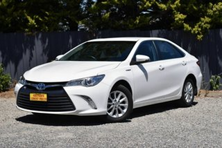 2017 Toyota Camry AVV50R Altise White 1 Speed Constant Variable Sedan Hybrid.