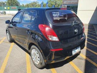 2013 Hyundai i20 PB MY14 Elite Black 6 Speed Manual Hatchback