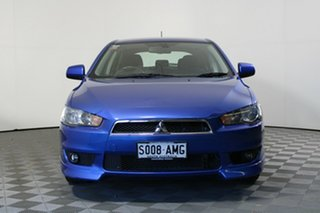 2011 Mitsubishi Lancer CJ MY11 VR Sportback Lightning Blue 6 Speed Constant Variable Hatchback