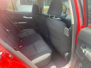 2010 Toyota Corolla ZRE152R MY10 Ascent Red 4 Speed Automatic Hatchback