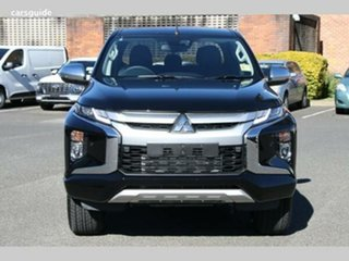 2020 Mitsubishi Triton MR MY21 GLS Double Cab Black 6 Speed Sports Automatic Utility