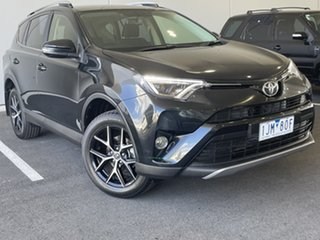 2017 Toyota RAV4 ASA44R GXL AWD Black 6 Speed Sports Automatic Wagon.