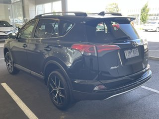 2017 Toyota RAV4 ASA44R GXL AWD Black 6 Speed Sports Automatic Wagon