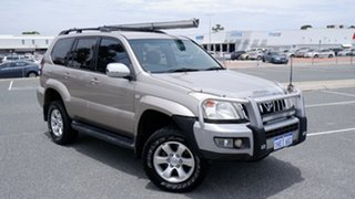 2004 Toyota Landcruiser Prado GRJ120R VX Gold 4 Speed Automatic Wagon.