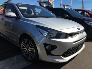 2020 Kia Rio YB MY21 Sport Silky Silver 6 Speed Automatic Hatchback.