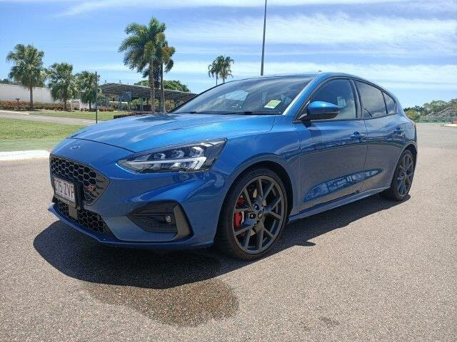 Used Ford Focus SA 2020.25MY ST Townsville, 2020 Ford Focus SA 2020.25MY ST Ford Performance Blue 7 Speed Automatic Hatchback