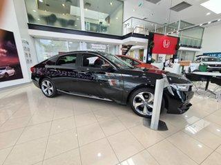 2019 Honda Accord 10th Gen MY19 VTi-LX Crystal Black 1 Speed Constant Variable Sedan.
