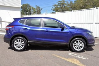 2017 Nissan Qashqai J11 ST Blue 1 Speed Constant Variable Wagon.
