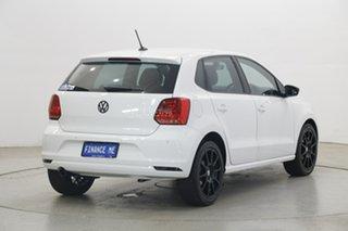 2018 Volkswagen Polo 6R MY17.5 Urban + (81Tsi) White 7 Speed Auto Direct Shift Hatchback