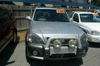 2004 Hyundai Terracan HP MY05 Silver 4 Speed Automatic Wagon.