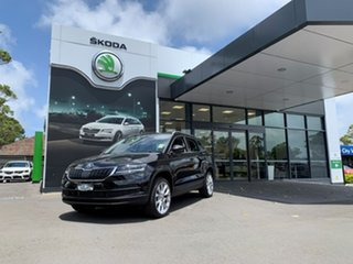 2020 Skoda Karoq NU MY21 110TSI FWD Black 8 Speed Automatic Wagon.