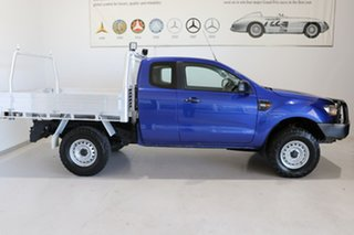 2018 Ford Ranger PX MkII 2018.00MY XL Blue 6 Speed Manual Cab Chassis