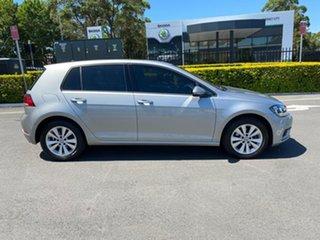 2017 Volkswagen Golf 7.5 MY18 110TSI DSG Silver 7 Speed Sports Automatic Dual Clutch Hatchback