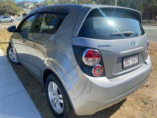 2012 Holden Barina TM Grey 6 Speed Automatic Hatchback