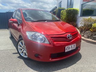 2010 Toyota Corolla ZRE152R MY10 Ascent Red 4 Speed Automatic Hatchback.