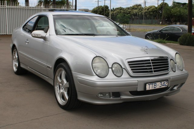 Used Mercedes-Benz CLK230 Kompressor Elegance West Footscray, 2000 Mercedes-Benz CLK230 Kompressor Elegance Silver 5 Speed Automatic Coupe