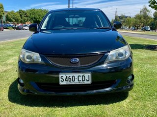 2008 Subaru Impreza G3 MY08 RS AWD Black 4 Speed Sports Automatic Hatchback.