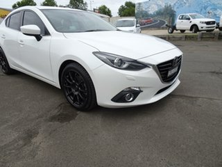 2014 Mazda 3 BM5238 SP25 SKYACTIV-Drive Astina White 6 Speed Sports Automatic Sedan
