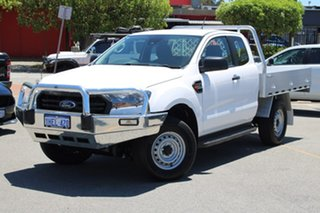 2020 Ford Ranger PX MkIII 2020.25MY XL Hi-Rider White 6 Speed Sports Automatic Super Cab Chassis.
