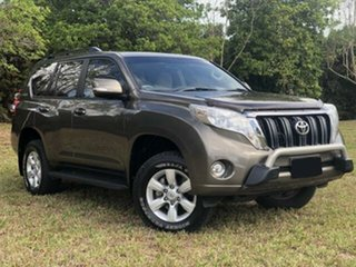 2015 Toyota Landcruiser Prado KDJ150R MY14 GXL (4x4) Liquid Bronze 6 Speed Manual Wagon.