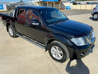 2013 Nissan Navara D40 S6 MY12 ST 4x2 Black 5 Speed Sports Automatic Utility.