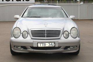 2000 Mercedes-Benz CLK230 Kompressor Elegance Silver 5 Speed Automatic Coupe.