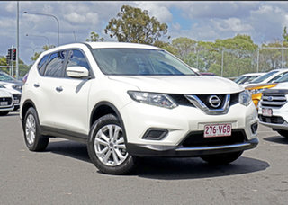 2014 Nissan X-Trail T32 ST 2WD White 6 Speed Manual Wagon.