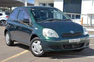 2002 Toyota Echo NCP10R Black 5 Speed Manual Hatchback.