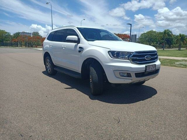 Used Ford Everest UA II 2020.75MY Trend Townsville, 2020 Ford Everest UA II 2020.75MY Trend Arctic White 6 Speed Sports Automatic SUV