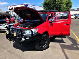 2014 Toyota Hilux KUN26R MY14 SR5 Double Cab Red 5 Speed Manual Utility