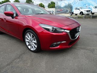 2018 Mazda 3 BN5238 SP25 SKYACTIV-Drive GT Soul Red 6 Speed Sports Automatic Sedan