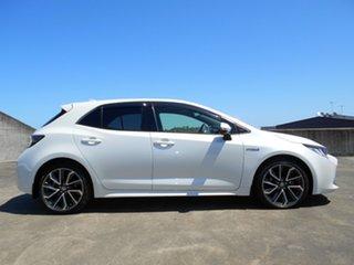 2018 Toyota Corolla ZWE211R ZR E-CVT Hybrid White 10 Speed Constant Variable Hatchback Hybrid.