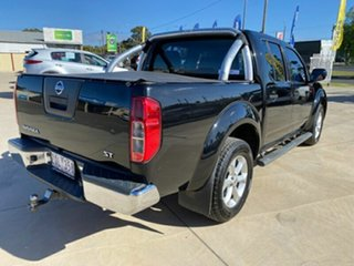 2013 Nissan Navara D40 S6 MY12 ST 4x2 Black 5 Speed Sports Automatic Utility