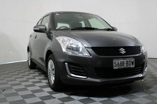2014 Suzuki Swift FZ MY14 GL Mineral Grey 5 Speed Manual Hatchback