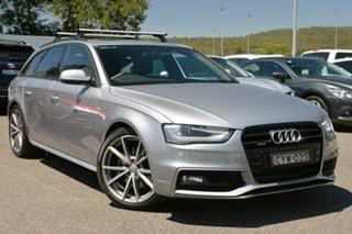 2015 Audi A4 B8 8K MY15 S Line Avant S Tronic Quattro Silver 7 Speed Sports Automatic Dual Clutch.