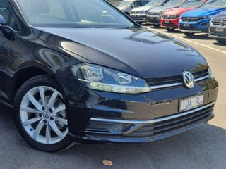2019 Volkswagen Golf 7.5 MY20 110TSI DSG Comfortline Black 7 Speed Sports Automatic Dual Clutch.