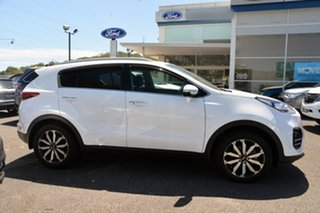 2018 Kia Sportage QL MY19 SLi 2WD White 6 Speed Sports Automatic Wagon.