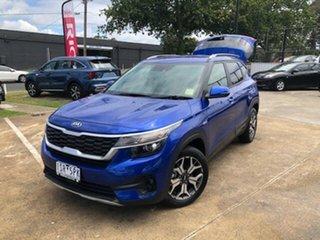 2020 Kia Seltos SP2 MY21 Sport+ DCT AWD Neptune Blue 7 Speed Sports Automatic Dual Clutch Wagon.