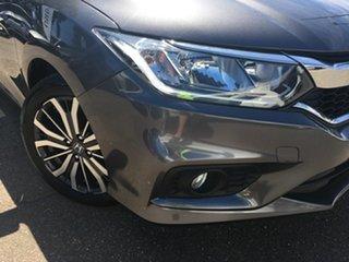 2017 Honda City GM MY18 VTi-L Grey 7 Speed Constant Variable Sedan.