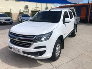 2018 Holden Colorado RG MY19 LS Crew Cab White 6 Speed Sports Automatic Cab Chassis.