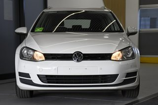 2015 Volkswagen Golf AU MY16 92 TSI Comfortline White 7 Speed Auto Direct Shift Wagon