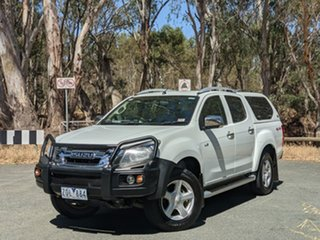 2012 Isuzu D-MAX MY12 LS-Terrain Crew Cab White 5 Speed Manual Utility.