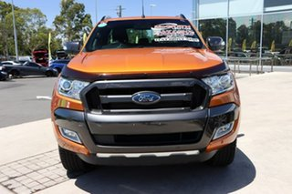 2017 Ford Ranger PX MkII Wildtrak Double Cab Pride Orange 6 Speed Sports Automatic Utility