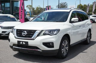 2019 Nissan Pathfinder R52 Series III MY19 ST-L X-tronic 4WD White 1 Speed Constant Variable Wagon.