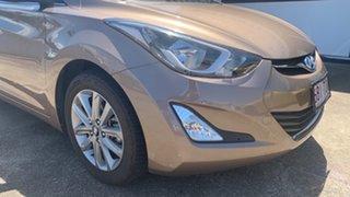 2013 Hyundai Elantra MD3 Elite Satin Amber 6 Speed Sports Automatic Sedan.