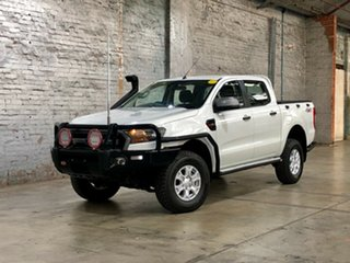 2015 Ford Ranger PX MkII XLS Double Cab White 6 Speed Manual Utility.