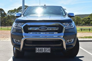 2017 Ford Ranger PX MkII XLT Double Cab Grey 6 Speed Sports Automatic Utility.