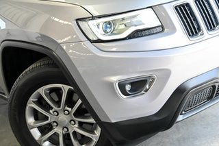 2016 Jeep Grand Cherokee WK MY15 Laredo Silver 8 Speed Sports Automatic Wagon.