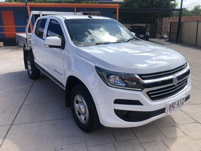 Used Holden Colorado RG MY19 LS Crew Cab Mundingburra, 2018 Holden Colorado RG MY19 LS Crew Cab White 6 Speed Sports Automatic Cab Chassis