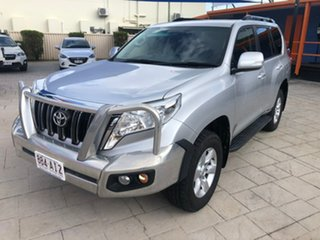 2017 Toyota Landcruiser Prado GDJ150R GXL Silver 6 Speed Sports Automatic Wagon.